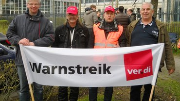 Warnstreik T-Systems