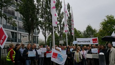 Warnstreik am T-Systems Standort Kiel